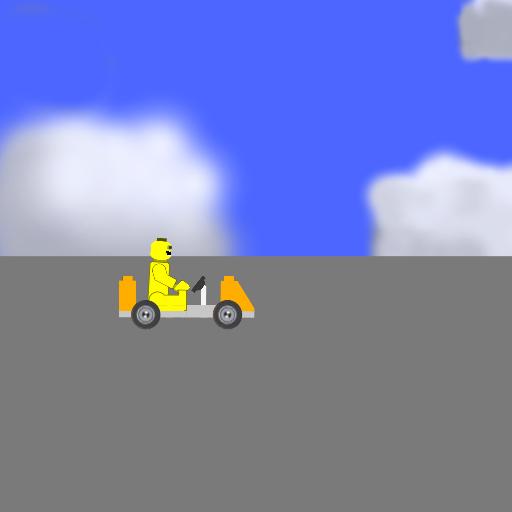 Lego Car Crash Slow Motion